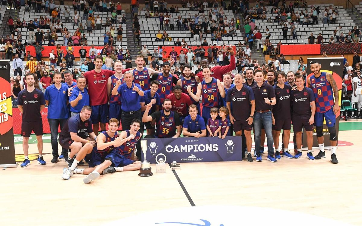 MoraBanc Andorra 92 Barça 93: First title of the season!