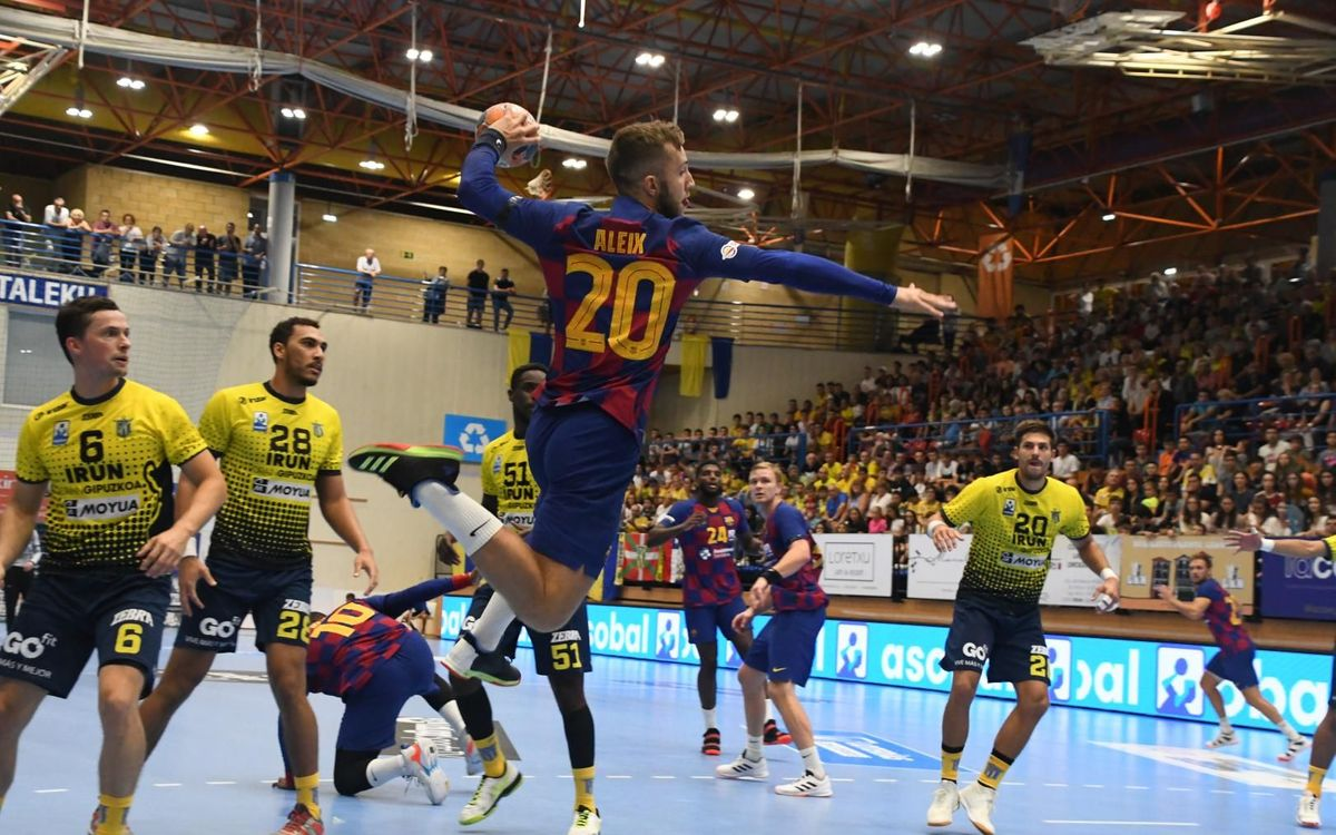 BM Bidasoa Irún 23 Barça 26: Solid win away from home