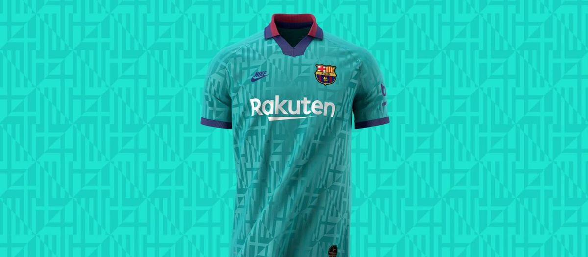 La fierté de Barcelone inspire la troisième tenue du Barça