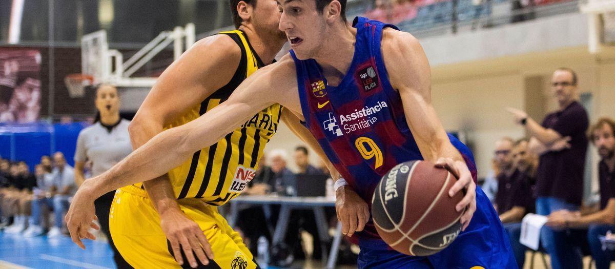 Barça B – Ilerdauto Nissan Pardinyes Lleida (54-56): Sense sort