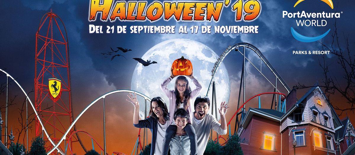 2x1 para los socios en el Halloween'19 de PortAventura World