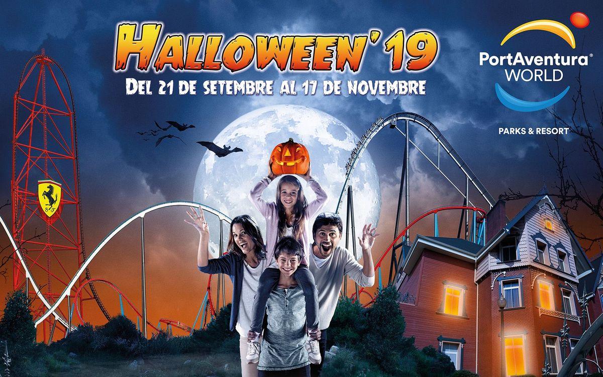 2x1 per als socis al Halloween'19 de PortAventura World
