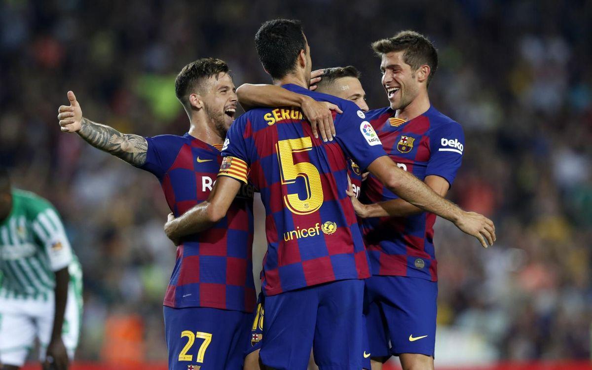 Barça – València: Partit de luxe per al retorn de la Lliga