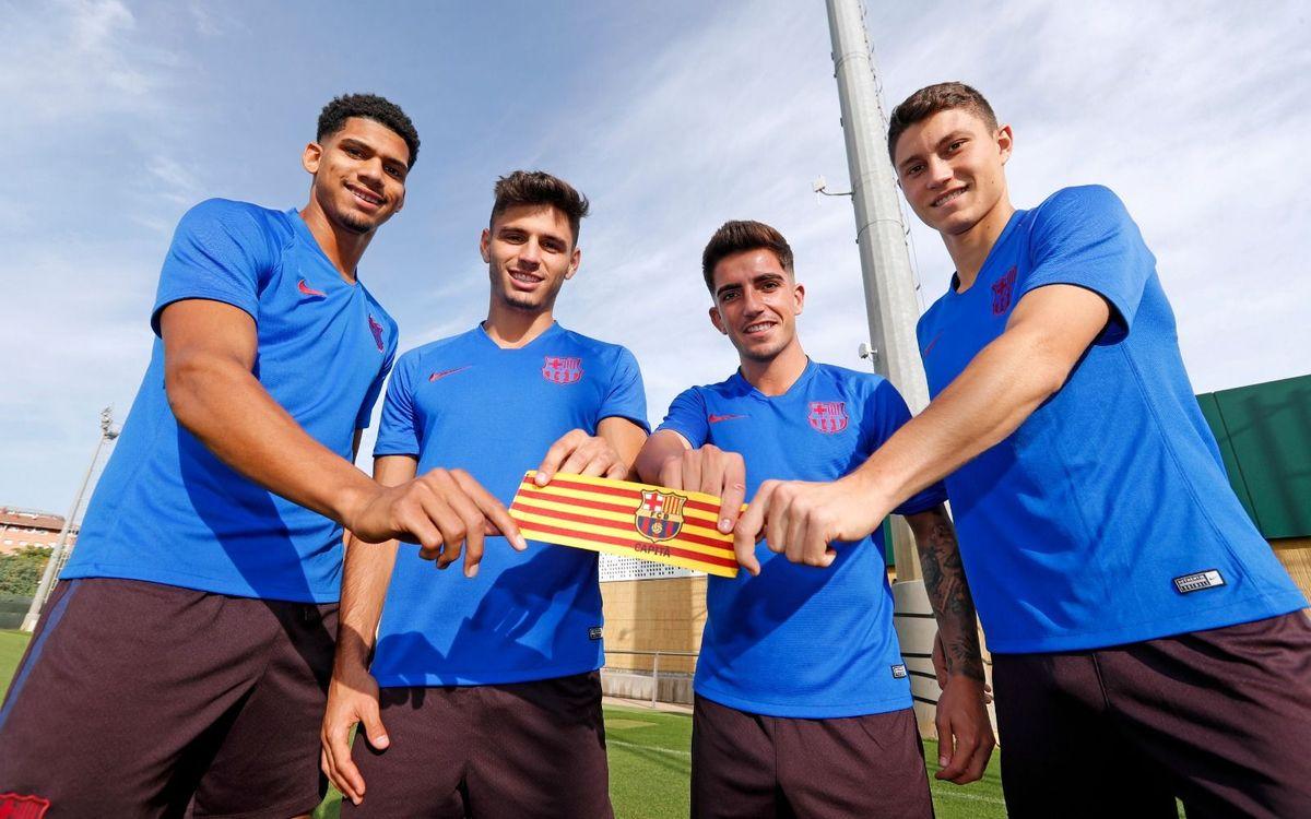 Els quatre capitans del Barça B