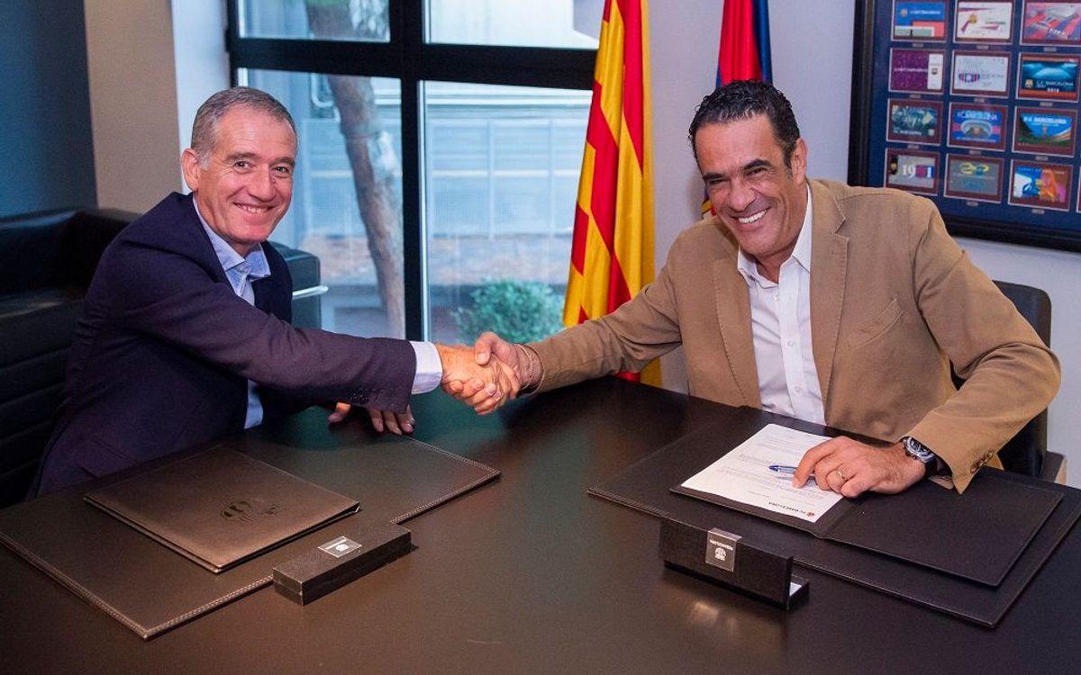 Andreu Plaza renova fins al 2022