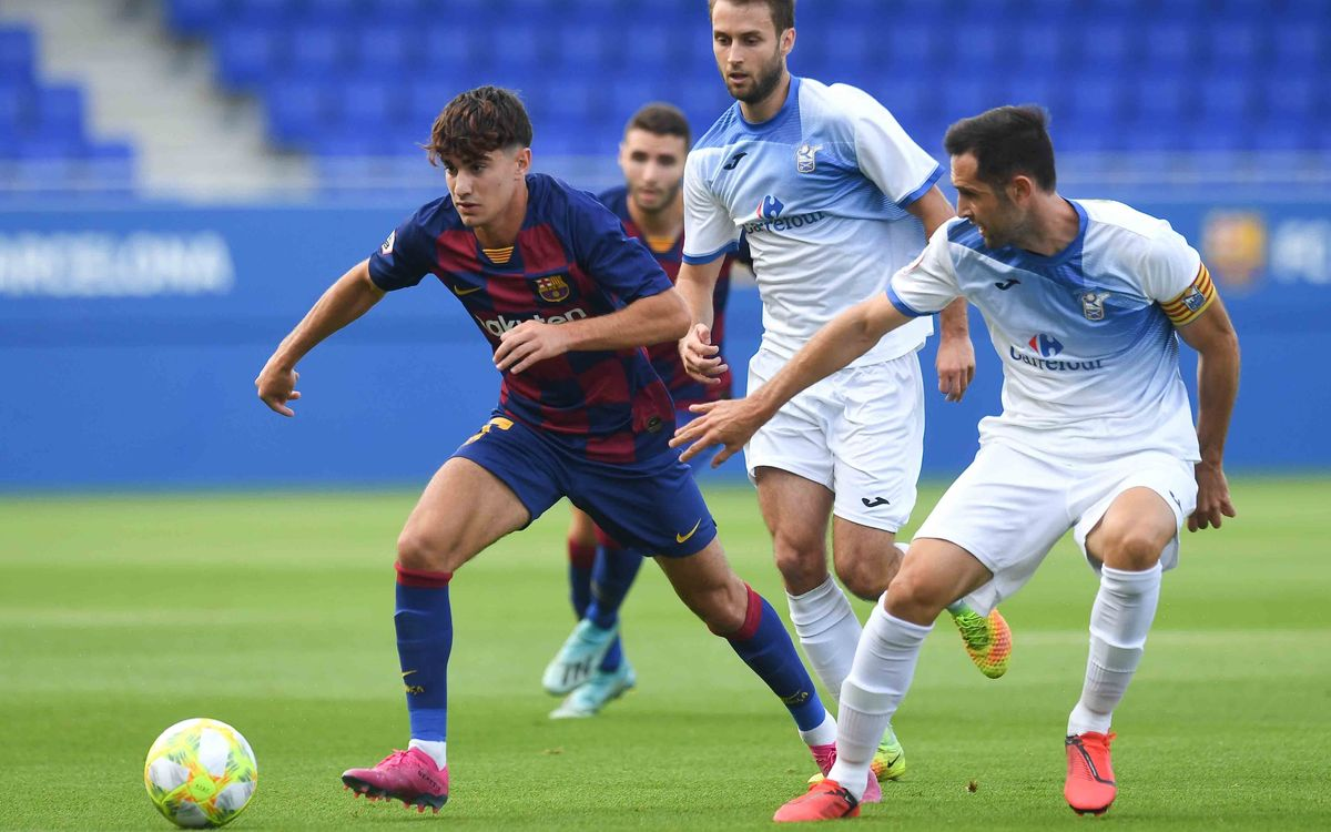 Barça B 2 Prat 2: Cruel end to a great performance