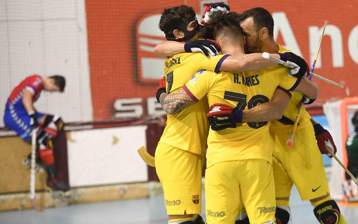 Igualada - Barça: Remontada en el último suspiro ... y a la final! (1-3)