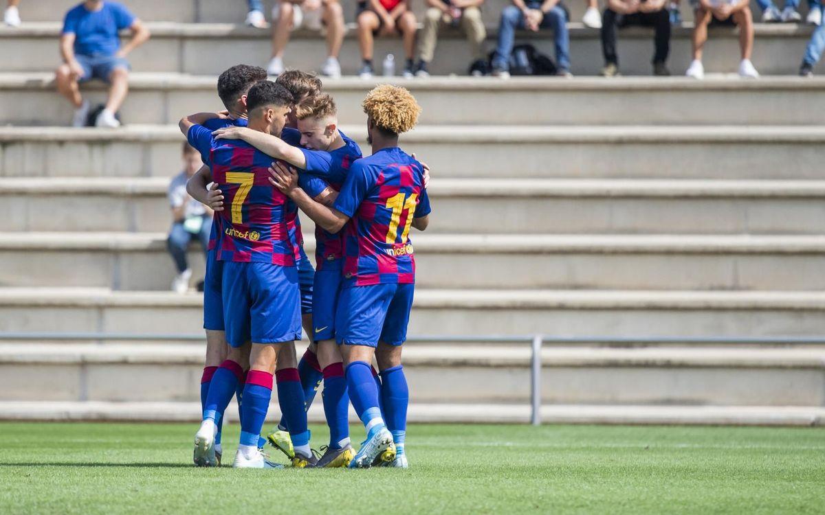 Juvenil A - Girona: Triunfo trabajado en un duelo abierto (1-0)