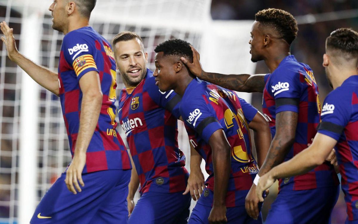 L'1-0 contra el València, un gol amb ADN Barça