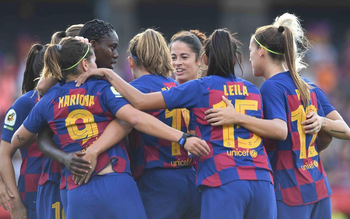 Rayo Vallecano – Barça Femení: Escenari gran, ambició màxima