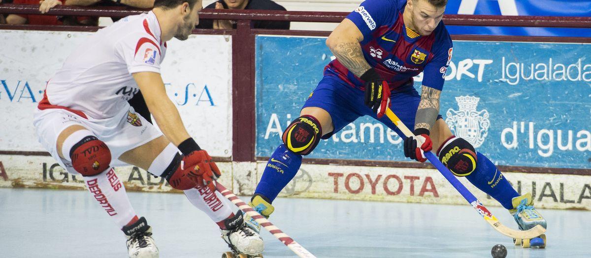 Reus Deportiu-Barça: Caen por la mínima en un duelo abierto (3-2)