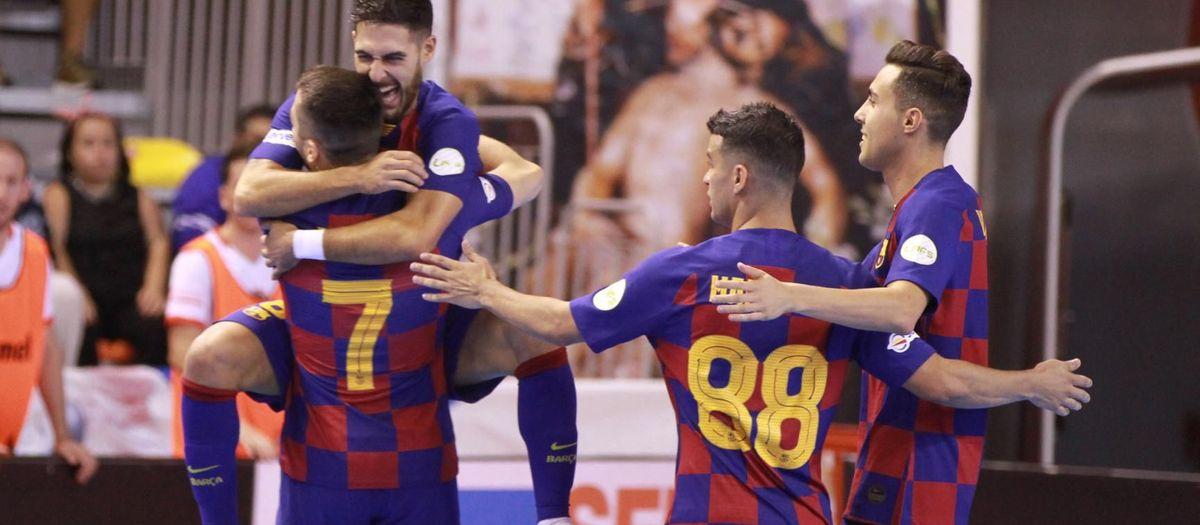 Jimbee Cartagena – Barça: Un debut contundent (3-7)
