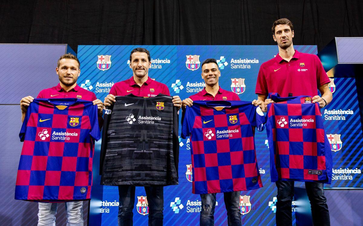 Capitanes de los deportes profesionales del Barça