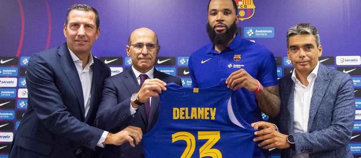 """Delaney: """"Vinc al Barça per ajudar als meus companys i guanyar títols"""""""