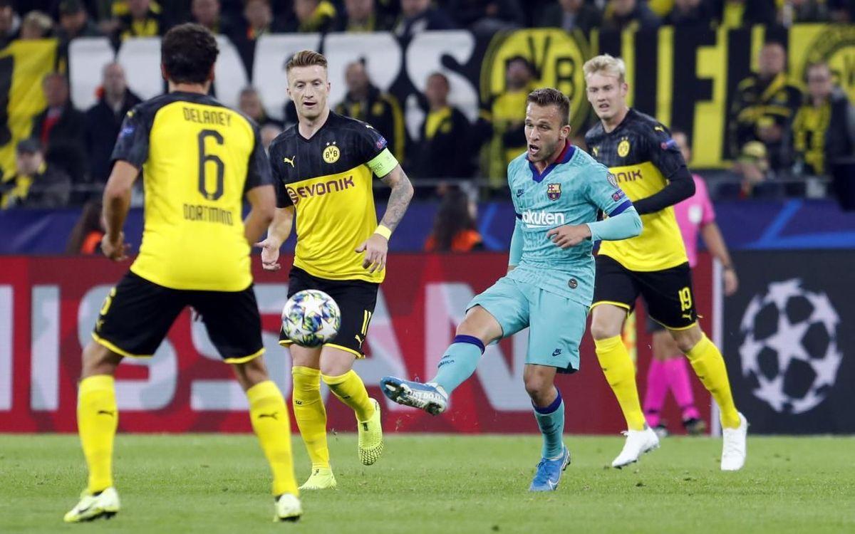 Borussia Dortmund - Barça: Un punto en el estreno europeo (0-0)