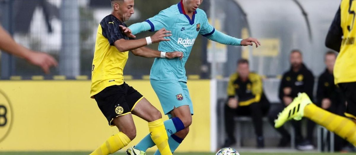 BorussiaDortmund 2 Barça U19A 1: Germans come from behind to win