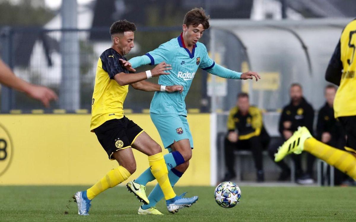 BorussiaDortmund – Juvenil A: Debut amarg amb remuntada alemanya (2-1)