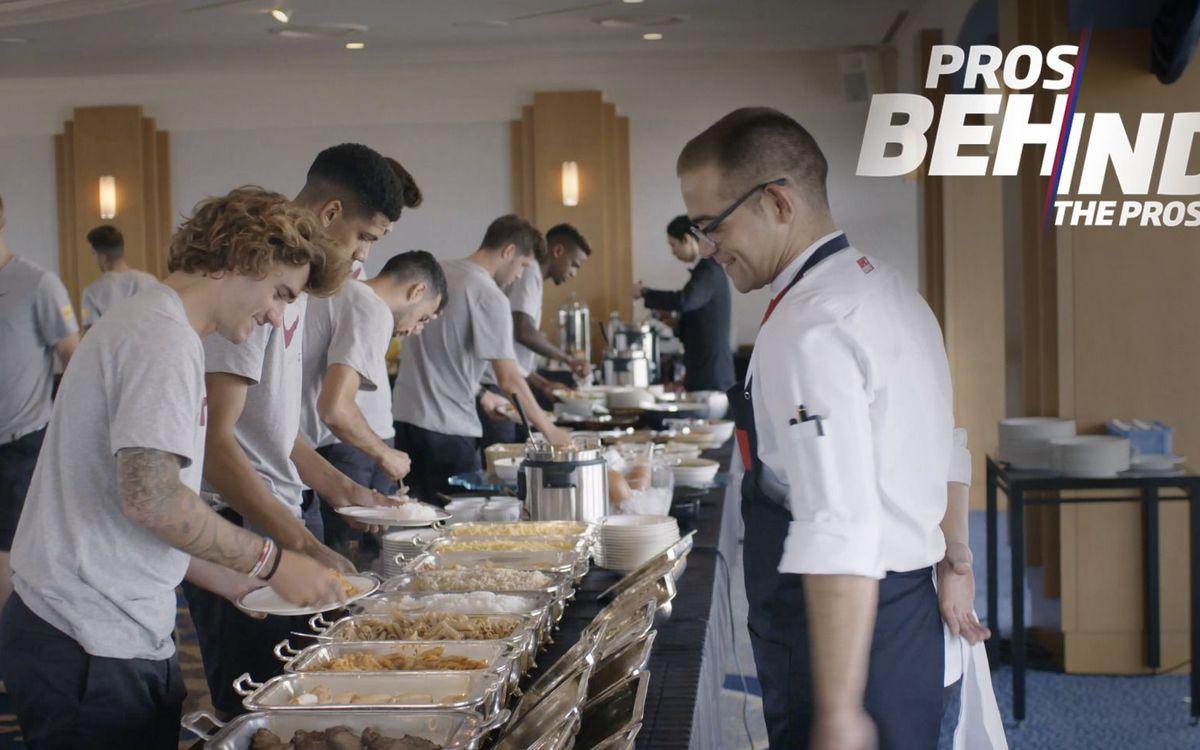 'Pros behind the pros', la miniserie que muestra el día a día de los profesionales detrás del primer equipo y La Masia