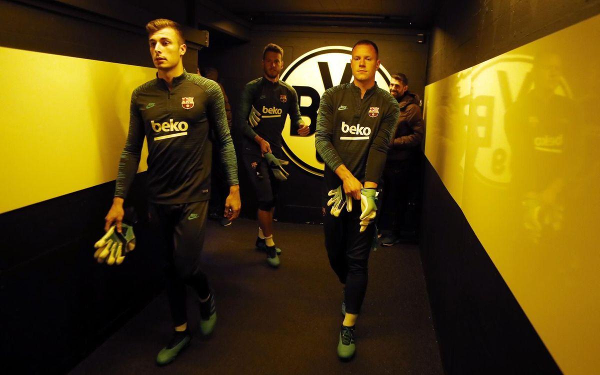 صور مباراة : بوريسيا دوتموند - برشلونة 0-0 ( 17-09-2019 )  9