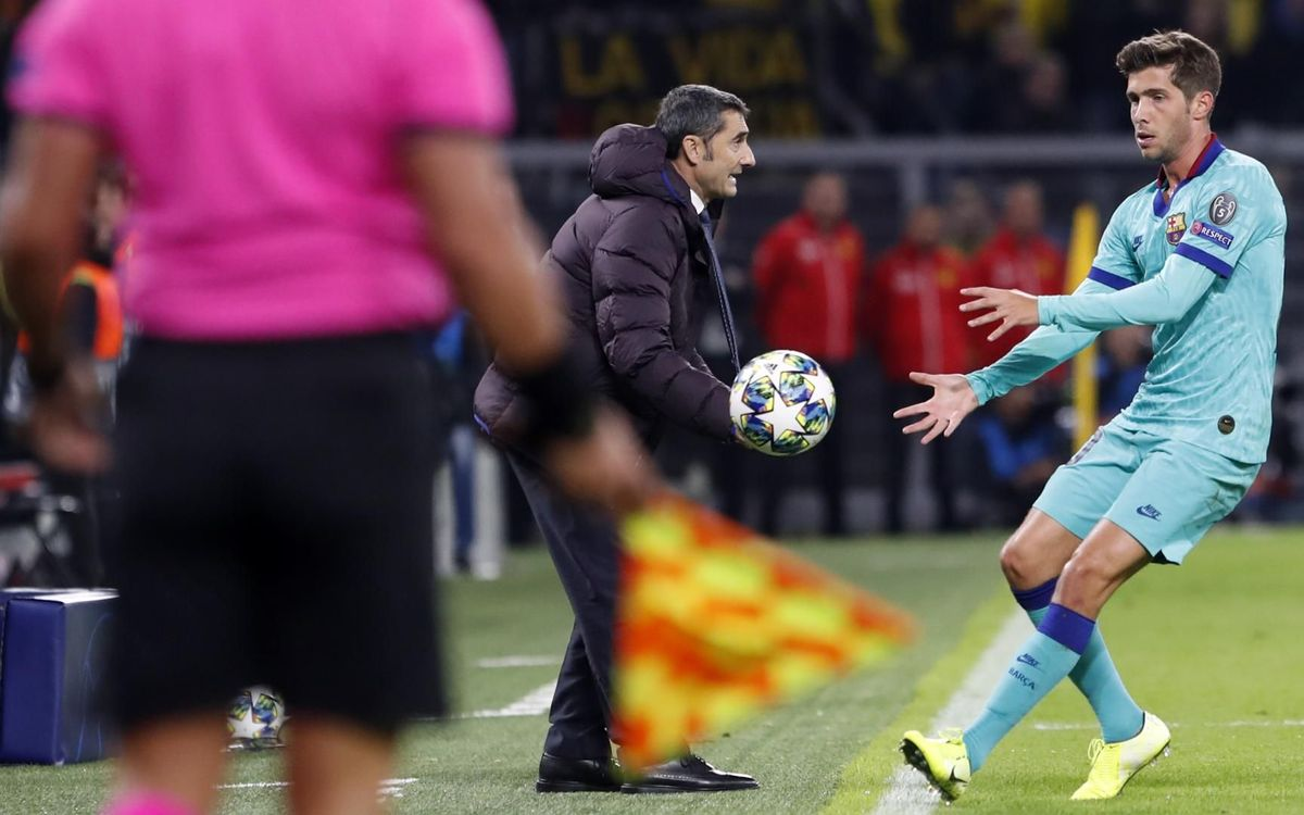صور مباراة : بوريسيا دوتموند - برشلونة 0-0 ( 17-09-2019 )  36