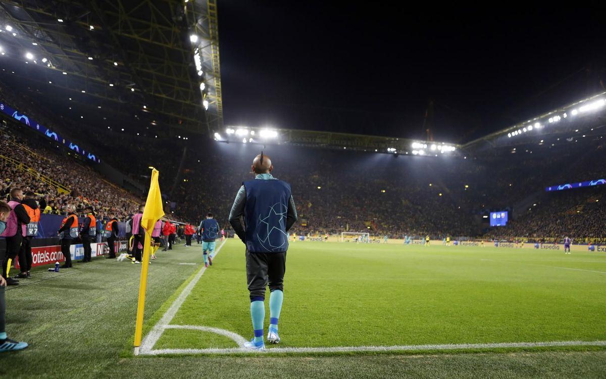 صور مباراة : بوريسيا دوتموند - برشلونة 0-0 ( 17-09-2019 )  33