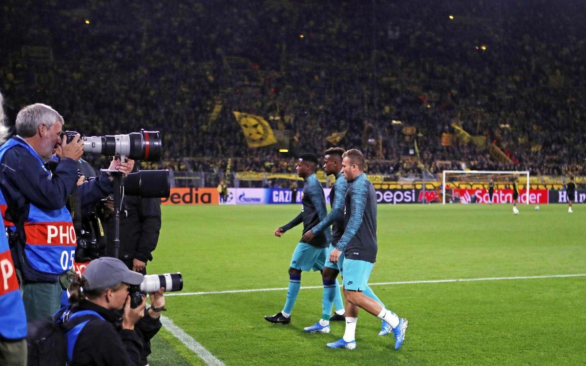 صور مباراة : بوريسيا دوتموند - برشلونة 0-0 ( 17-09-2019 )  12