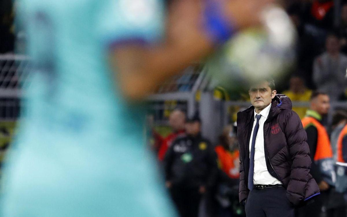 صور مباراة : بوريسيا دوتموند - برشلونة 0-0 ( 17-09-2019 )  19