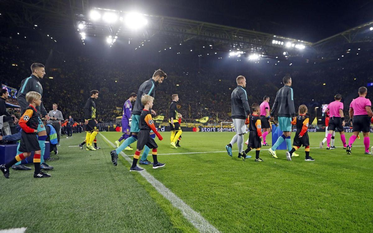 صور مباراة : بوريسيا دوتموند - برشلونة 0-0 ( 17-09-2019 )  17