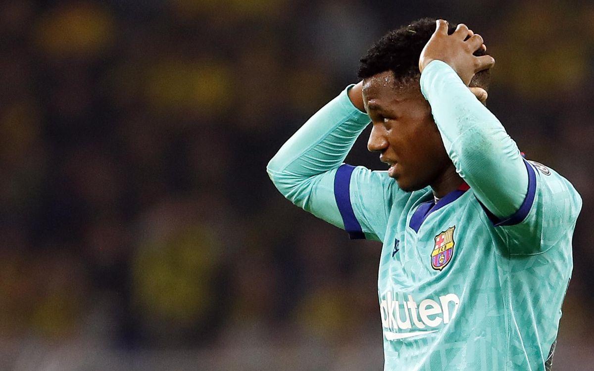 صور مباراة : بوريسيا دوتموند - برشلونة 0-0 ( 17-09-2019 )  25