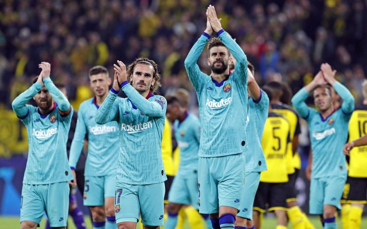 صور مباراة : بوريسيا دوتموند - برشلونة 0-0 ( 17-09-2019 )  41