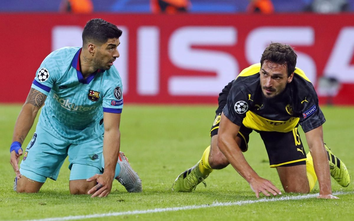 صور مباراة : بوريسيا دوتموند - برشلونة 0-0 ( 17-09-2019 )  39
