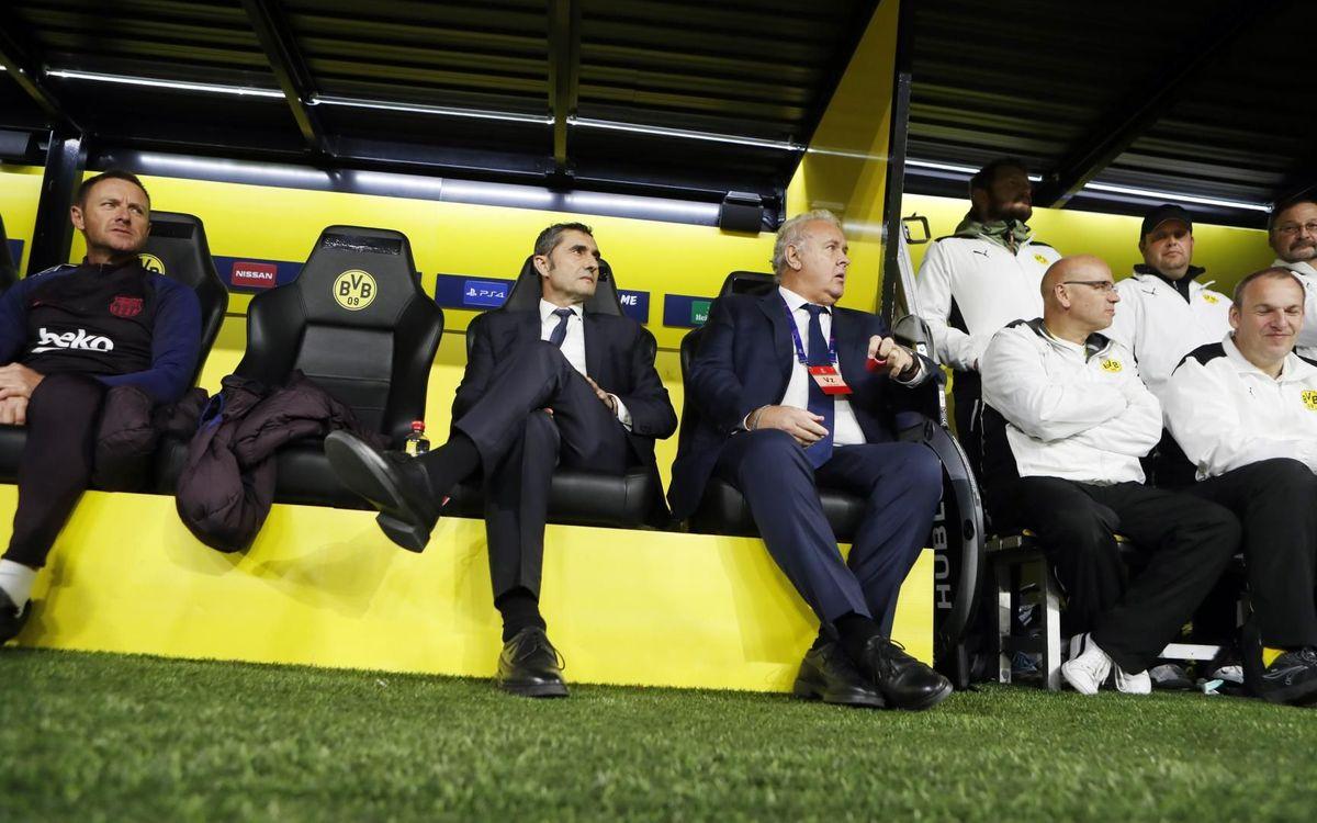 صور مباراة : بوريسيا دوتموند - برشلونة 0-0 ( 17-09-2019 )  15