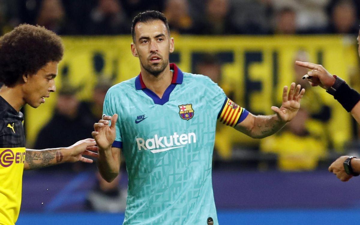 صور مباراة : بوريسيا دوتموند - برشلونة 0-0 ( 17-09-2019 )  23