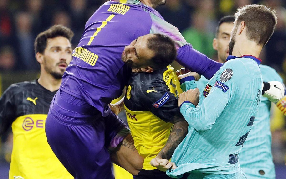 صور مباراة : بوريسيا دوتموند - برشلونة 0-0 ( 17-09-2019 )  28