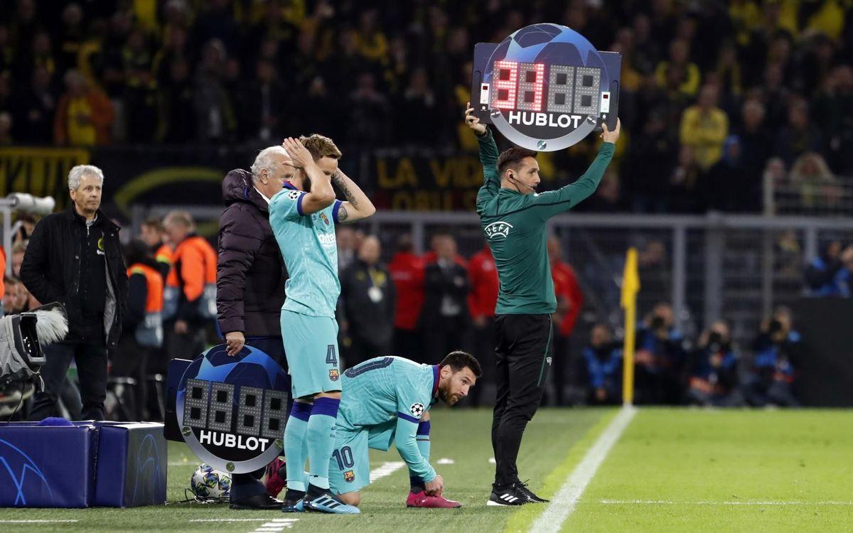 صور مباراة : بوريسيا دوتموند - برشلونة 0-0 ( 17-09-2019 )  34