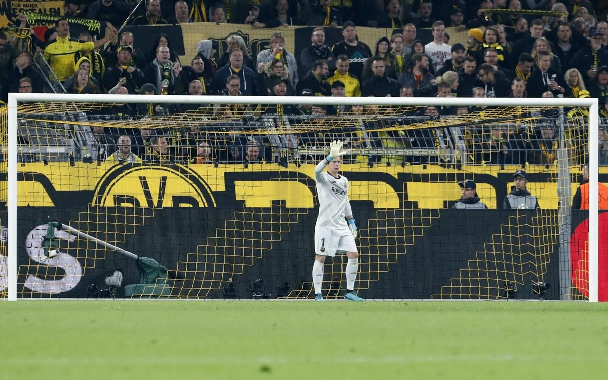 صور مباراة : بوريسيا دوتموند - برشلونة 0-0 ( 17-09-2019 )  32