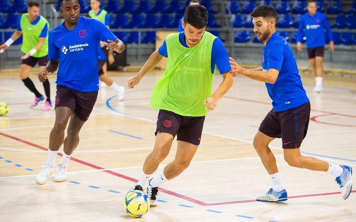 Vuelve la liga a un Palau con ganas de Futsal