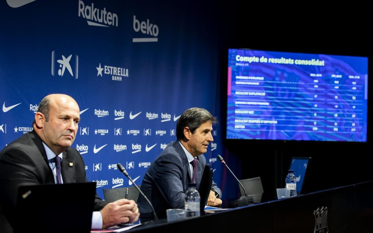 FC Barcelona presents record projection of €1 billion in turnover for the 2019/20 season, the leading income in sports worldwide