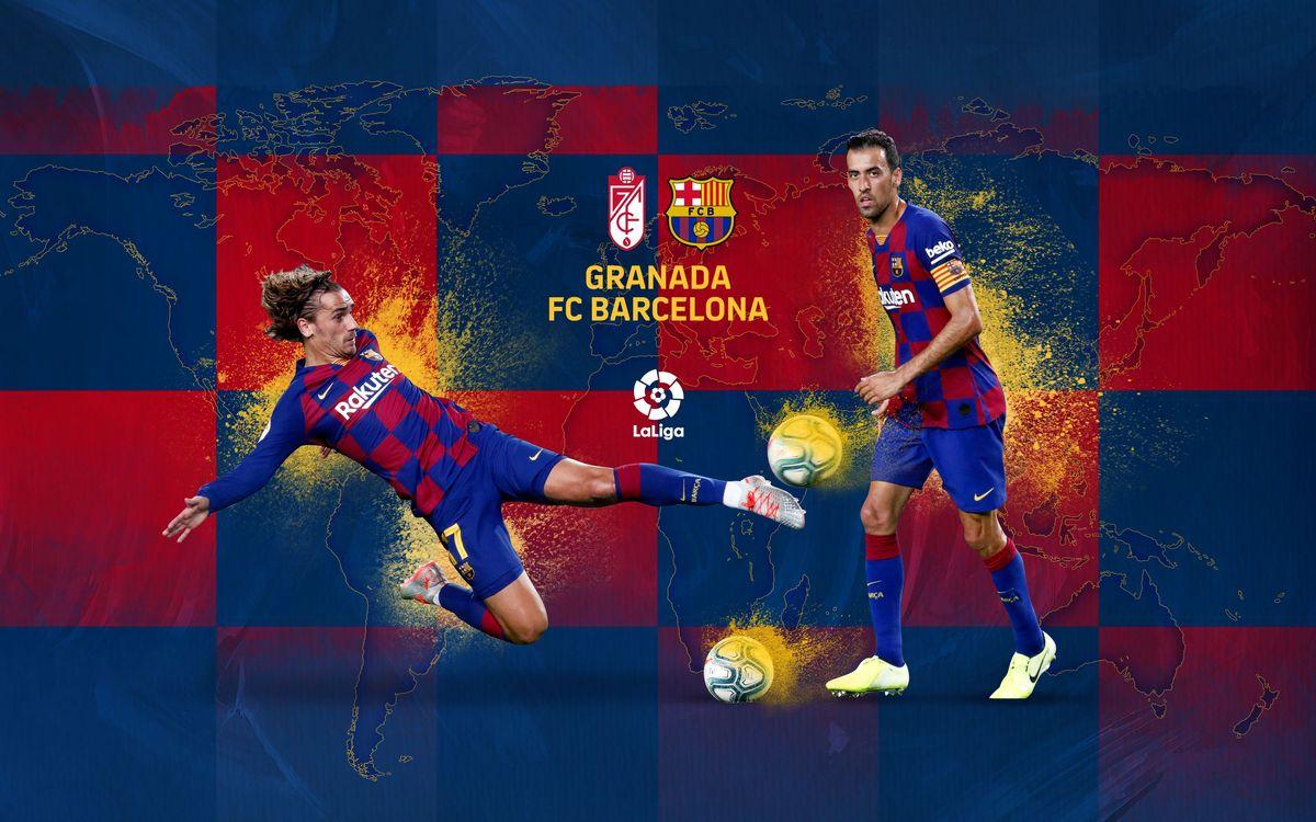 Cuándo y dónde ver el Granada - FC Barcelona