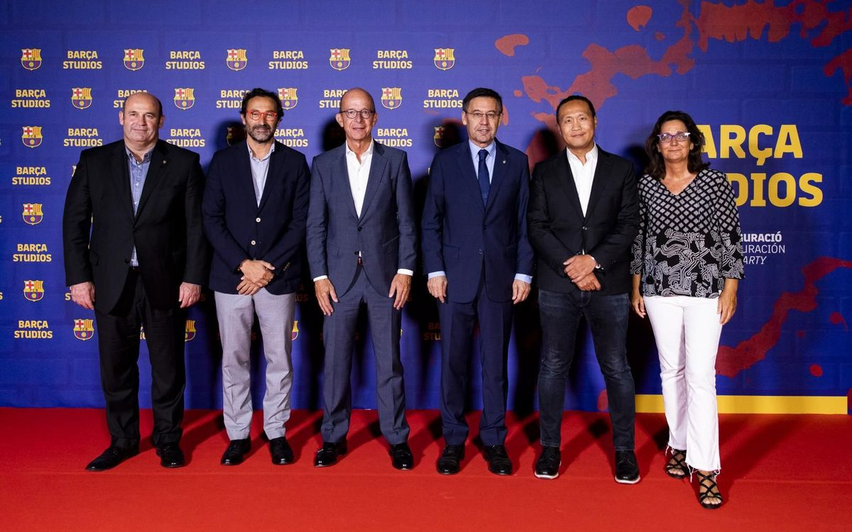 Barça Studios project inaugurated