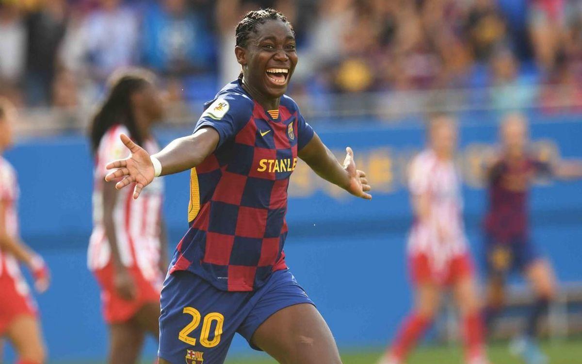 FC Barcelona-Atlètic de Madrid: Golejada estel·lar i líders (6-1)
