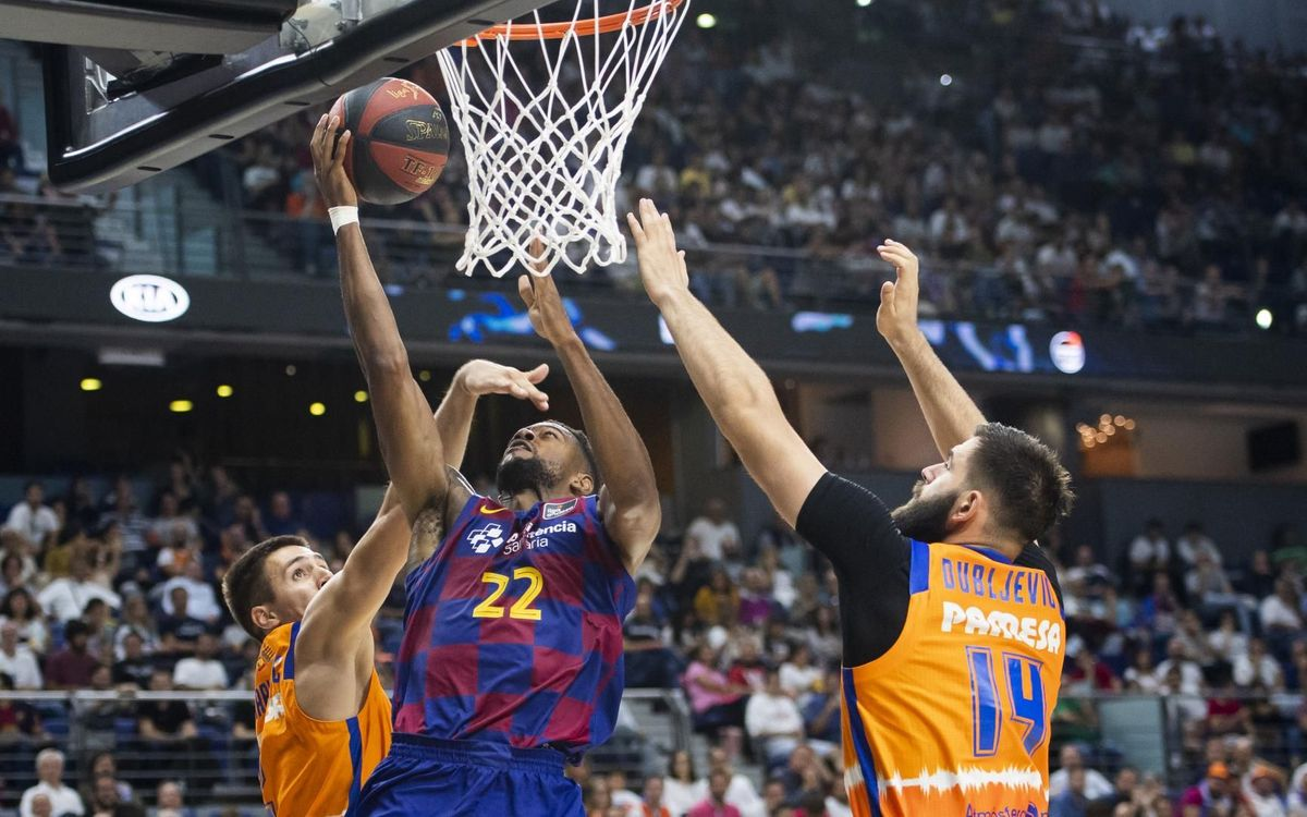 Barça 71 Valencia 65: Super Cup final here we come!