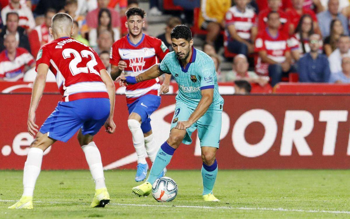 Granada – FC Barcelona: Derrota inesperada (2-0)