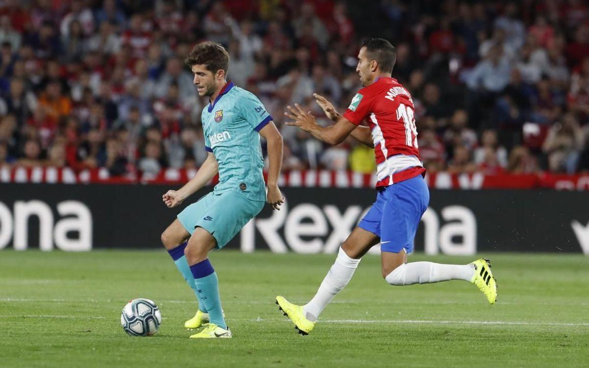 Sergi Roberto, 250 partidos con el primer equipo