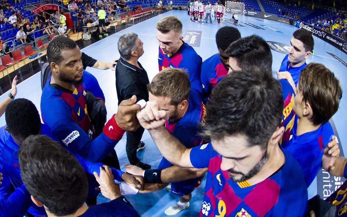 Barça – Celje Pivovarna Lasko: ¡El espectáculo europeo vuelve al Palau!
