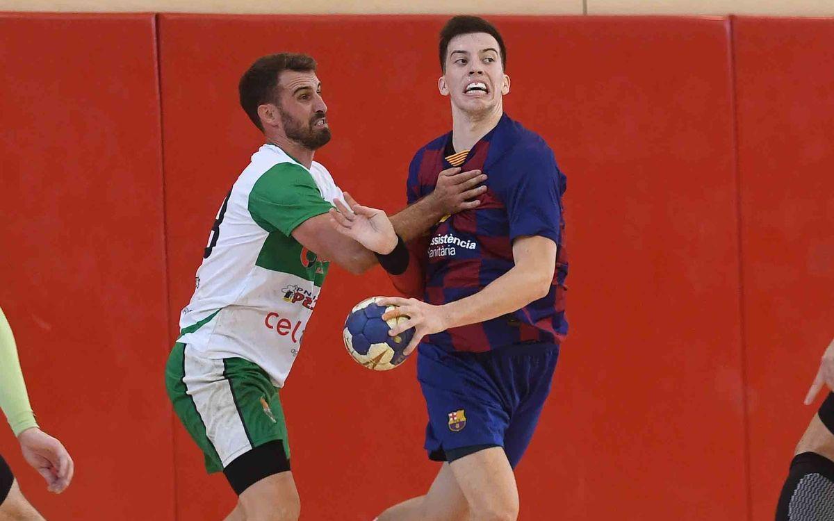 Barça B – H. Bordils (32-29): El derbi català es queda a casa