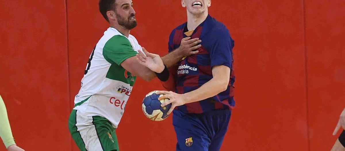 Barça B - H. Bordils (32-29): El derbi catalán se queda en casa