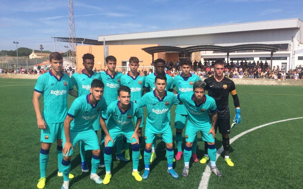 Atlético Villacarlos-Juvenil A: Triunfo meritorio para recuperar sensaciones (0-3)