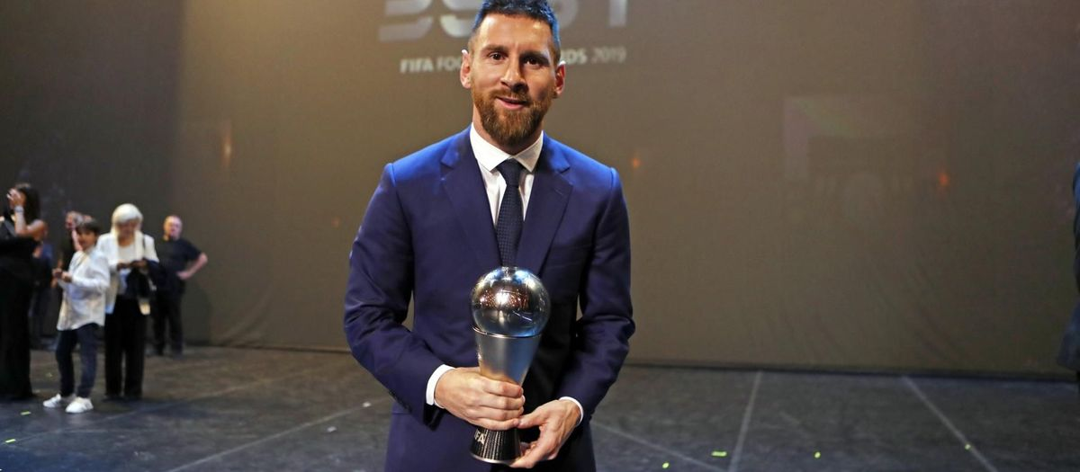 Messi wins the 'The Best' award