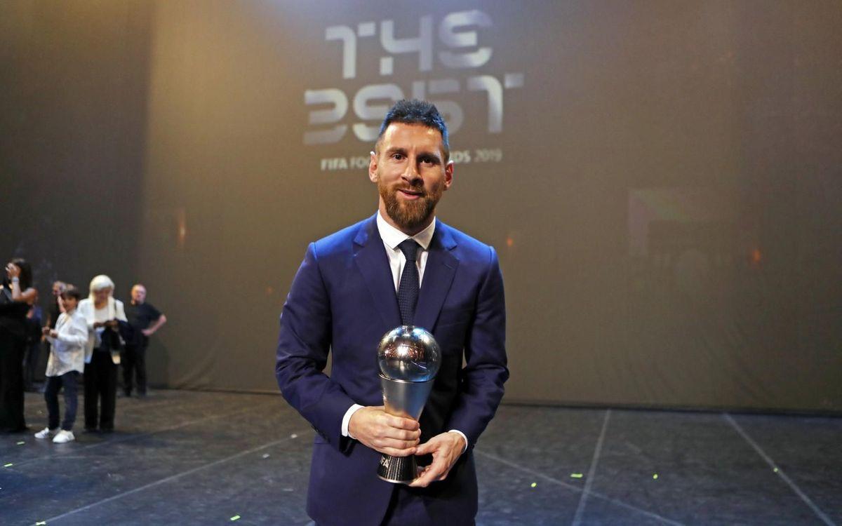 Messi guanya el premi 'The Best'